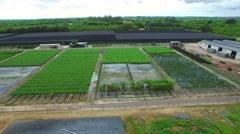 Aerial video Homestead farmland 4 - stock footage
