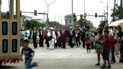 New Orleans Irish-Italian Parade Stock Footage
