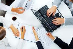 Consulting - stock photo