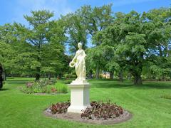 Flora Statue Stock Photos