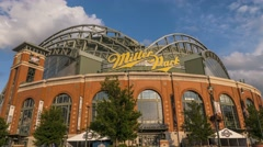 Miller Park Day Time-lapse 60 fps Stock Footage