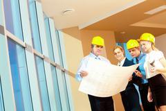 Stock Photo of Indoor work