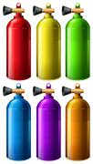 Oxygen tank Stock Illustration