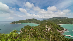 Koh tao gulf of siam in Thailand Stock Footage