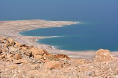 Landscape of the Dead Sea Israel Kuvituskuvat