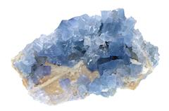 Fluorite - Blue Sky Stock Photos