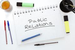Stock Illustration of Public Relations