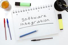 Software Integration - stock illustration