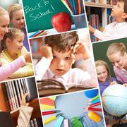 Education moments - stock photo