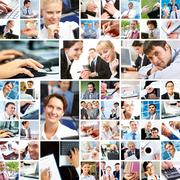 Business moments Stock Photos