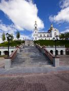 Belarus church Stock Photos