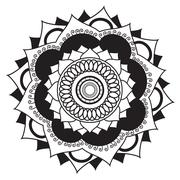 Stock Illustration of Mandala