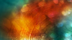 Teal and Orange Autumn Combo 1080  background Stock Footage