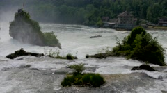 Rhine Falls at Schaffhausen, Switzerland #3 Stock Footage