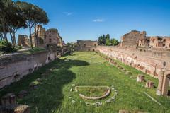 The Palatine Stadium - stock photo