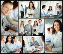 Business experts - stock photo