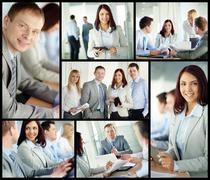 Business experts Stock Photos