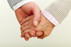 Human hands - stock photo
