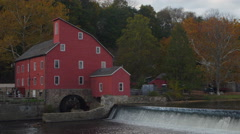 Clinton Mill - stock footage
