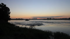 The Blue Nile, South Sudan Stock Footage