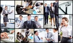 Business atmosphere Stock Photos