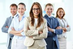 Business leadership - stock photo