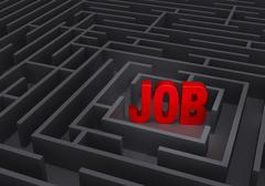 Stock Illustration of Finding A Job