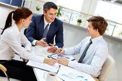 Stock Photo of Business youth