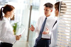 Business interaction Stock Photos