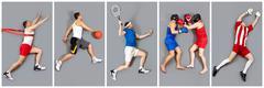 Kinds of sport Stock Photos