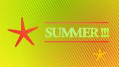 Summer animation Stock Footage