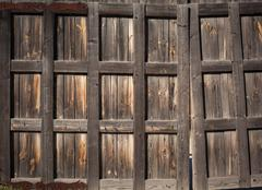 Stock Photo of Door. Old wood texture. background old panels for design