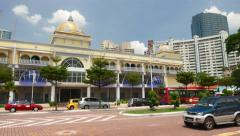 Kompleks Tun Sambanthan panoramic shot, formerly The Pines in Brickfields Stock Footage