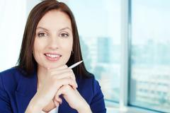 Business lady - stock photo
