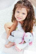 In kindergarten - stock photo