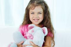 Cute junior - stock photo