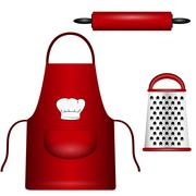 kitchenware - stock illustration