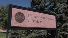 University of Colorado at Boulder Stock Footage