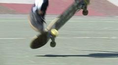 Skateboard Slow-Mo Stock Footage