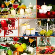 Christmas still-life Stock Photos