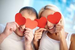 Hearty love - stock photo