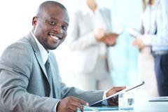 Successful entrepreneur Stock Photos