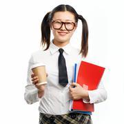 College girl Stock Photos