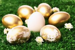 Easter symbols - stock photo