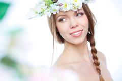 Miss Spring - stock photo