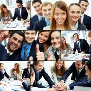 Business partnership Kuvituskuvat