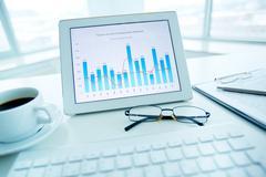 Market analysis - stock photo