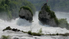 Rhine Falls at Schaffhausen, Switzerland #6 Stock Footage