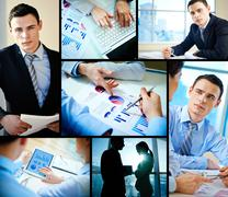 Business occupation - stock photo