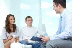 Financial consulting Stock Photos